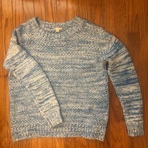 GAP Pullover Sweater in Blue/White - Small